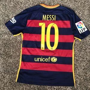Lionel Messi Barcelona Soccer Jersey